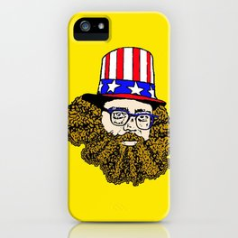 Allen Ginsberg iPhone Case