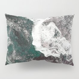 Abstract Sea, Water Pillow Sham