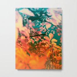 Autumn Fantasy colors of love & light Metal Print
