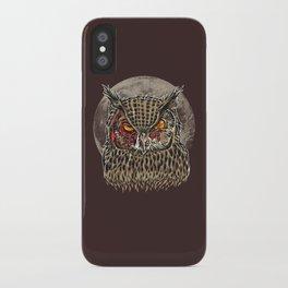 Zombie Owl iPhone Case