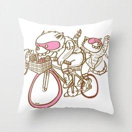 Banditos ©Josh Quick Throw Pillow