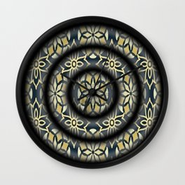 spirals Wall Clock