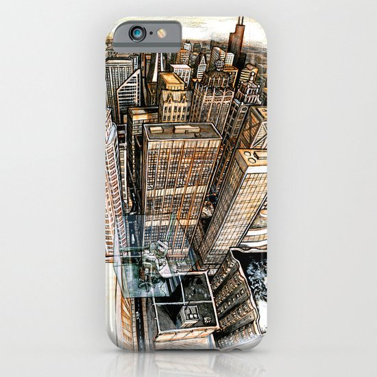 A cube with a view iPhone & iPod Case