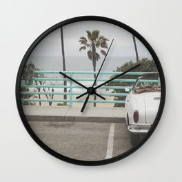 Cruisin Manhattan Beach Wall Clock