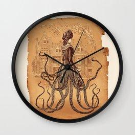 Lady Cthulhu Wall Clock