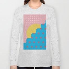 Memphis Style N°6 Long Sleeve T-shirt