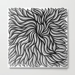 Ray Mawst - Organic Geometry 1  Metal Print