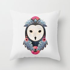 Owl 1 - Light Throw Pillow