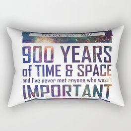 900 Years of Time and Space Rectangular Pillow