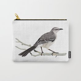 Northern mockingbird - Cenzontle - Mimus polyglottos Carry-All Pouch