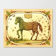 The March Of Autumn Canvas Print