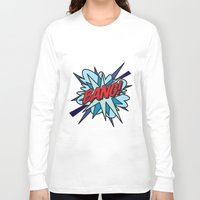 comic book Long Sleeve T-shirts featuring Comic Book BANG! by Thisisnotme