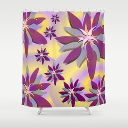 Spring Time Grooves Shower Curtain
