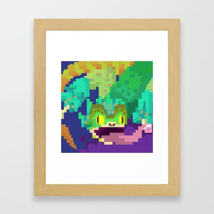 Pukei Pukei Framed Art Print