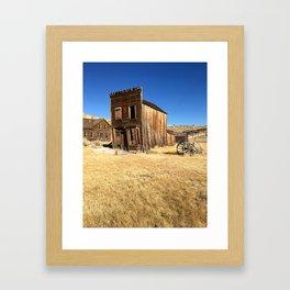 Dead House Framed Art Print