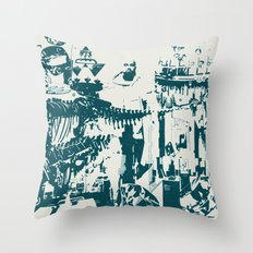 Other side of the glass. Throw Pillow