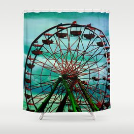 Last Second Shower Curtain