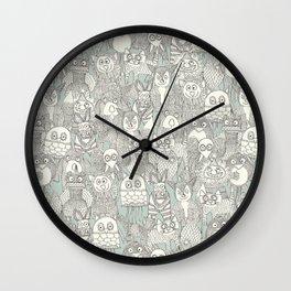 pencil pinatas Wall Clock