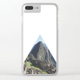 Machu Picchu - Geometric Photography Clear iPhone Case