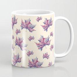 Pastel leaves Coffee Mug