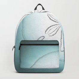 Sand Dollar Blessings - Pointilist Art Backpack