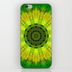 Lemon Lime Mandala  iPhone & iPod Skin