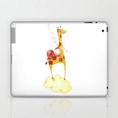 Baby in a giraffe Laptop & iPad Skin