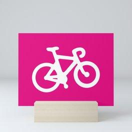 Pink Bike Mini Art Print