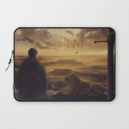 Amazing view at sunset Laptop Sleeve
