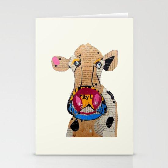 cow frazer Stationery Cards