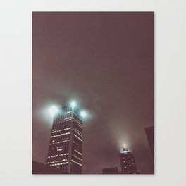 Midnight Fog Canvas Print