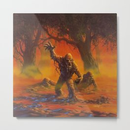 You Can't Scare Me Metal Print