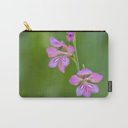 Beauty in nature, wildflower Gladiolus illyricus Carry-All Pouch