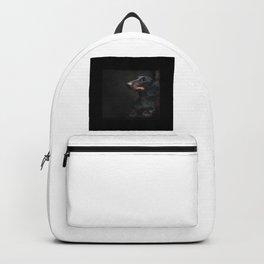 Black Dachshund Backpack
