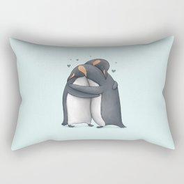 Penguin Hug Rectangular Pillow