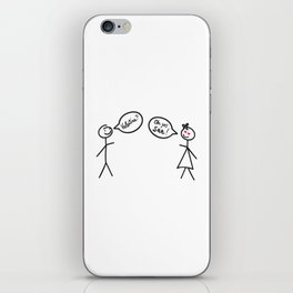 San Valetine's Day for Her iPhone Skin