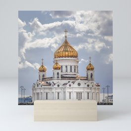 Cathedral of Christ the Saviour, Moscow Mini Art Print