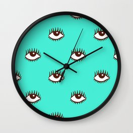 POP_EYES Wall Clock