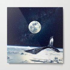 Stay in Space Metal Print