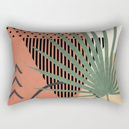 Nature Geometry II Rectangular Pillow