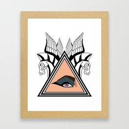 Cleopatra Illuminatus Framed Art Print