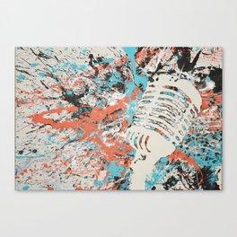 Paint Out Loud-Mic Canvas Print