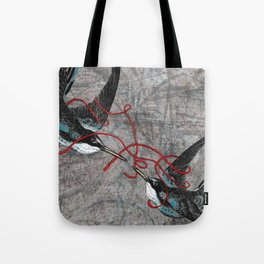 For Better or Worse (aka Tying the Knot) Tote Bag