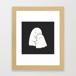 Ghost Hug - Soulmates Framed Art Print