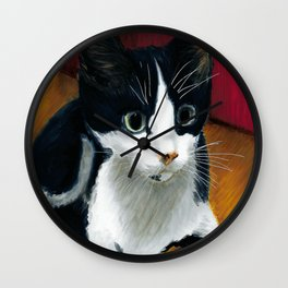 mickey cat baby Wall Clock