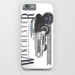 Supernatural : Winchester Antiques iPhone Case