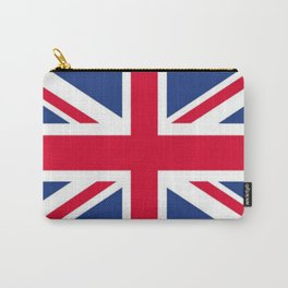 Union Jack 🇬🇧 Flag Of The United Kingdom ♚ Carry-All Pouch