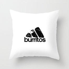 Burritos Throw Pillow
