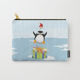 Angry penguin Carry-All Pouch
