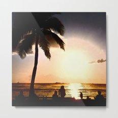 Remembering Waikiki Metal Print